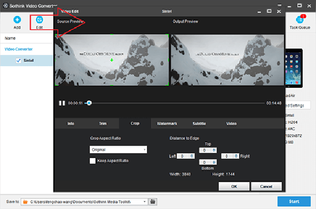 Sothink Video Converter Screenshot