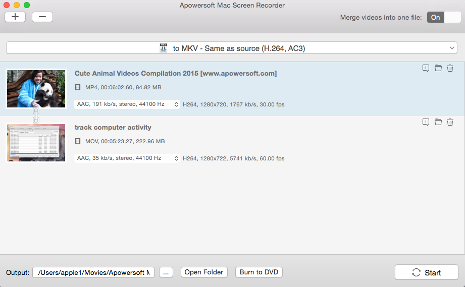 Apowersoft Mac Screen Recorder Screenshot 3