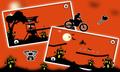 Free Moto Racer Halloween Town 2