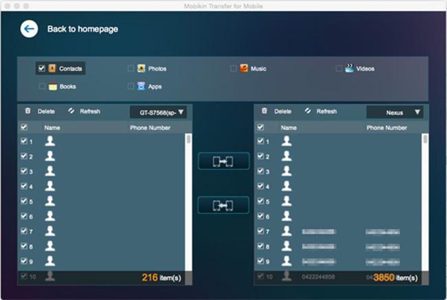 MobiKin Transfer for Mobile Screenshot 2