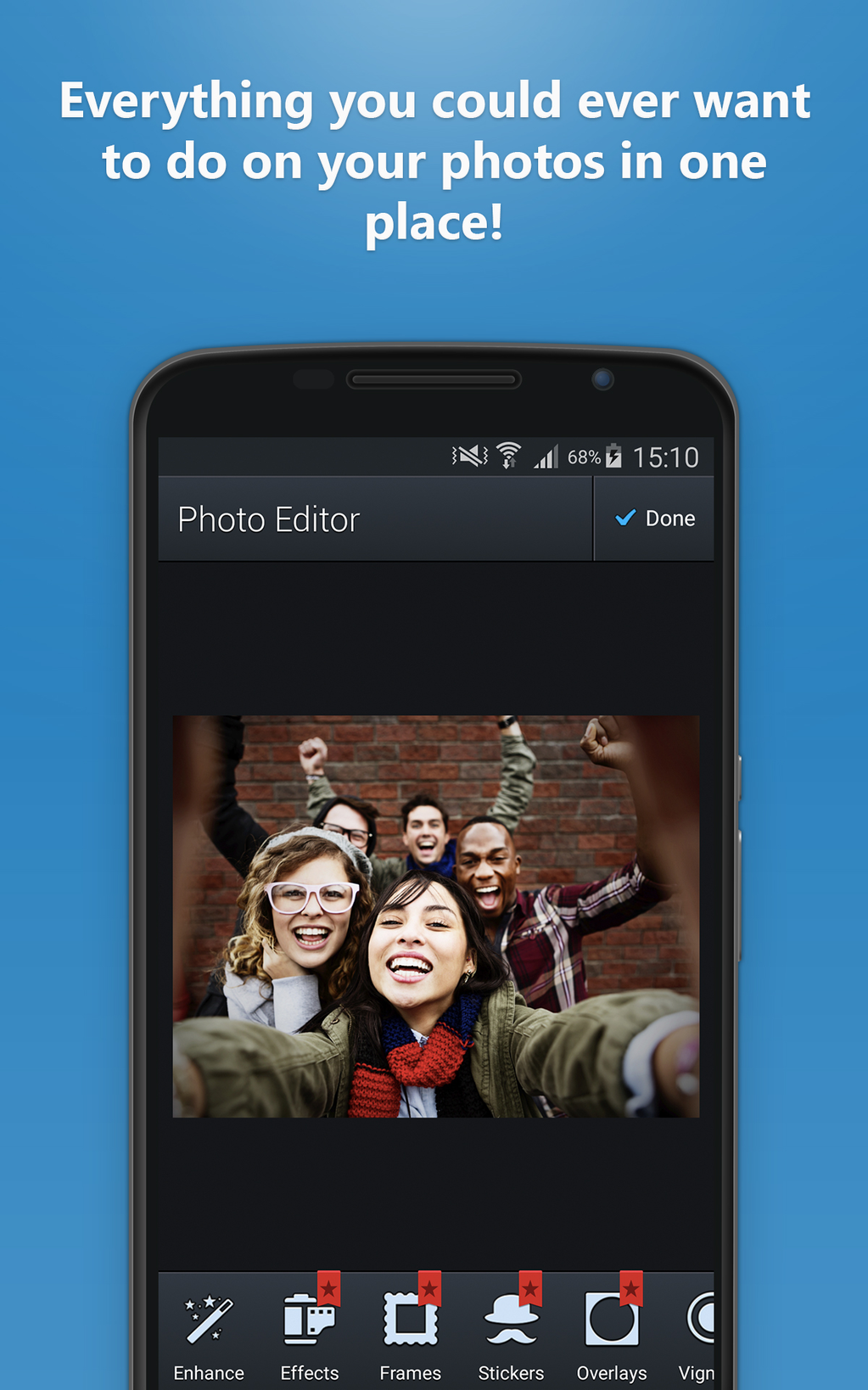 Photo Editor for Android Screenshot 1