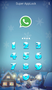 AppLock Theme Snowsky 1