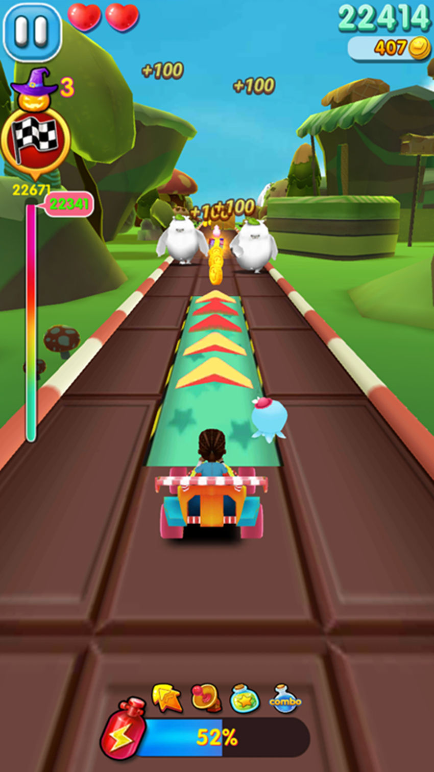 Turbo Racing Fast Speed 3D Screenshot 2