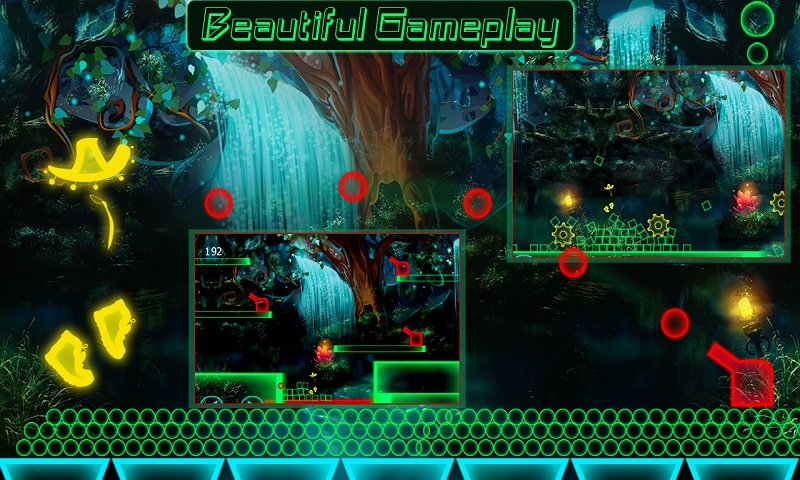 Glow Man Runner of Dark Night Screenshot 4