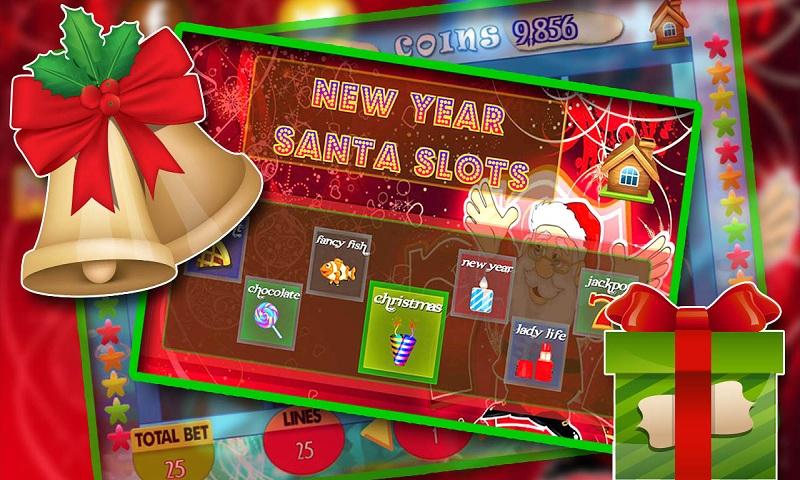 Christmas Santa 777 Slots Screenshot 2