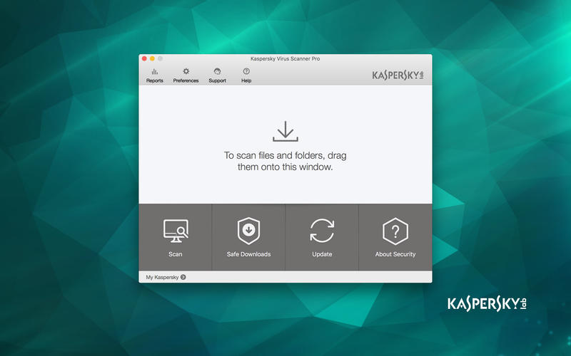 Kaspersky  Virus Scanner for Mac Screenshot 1