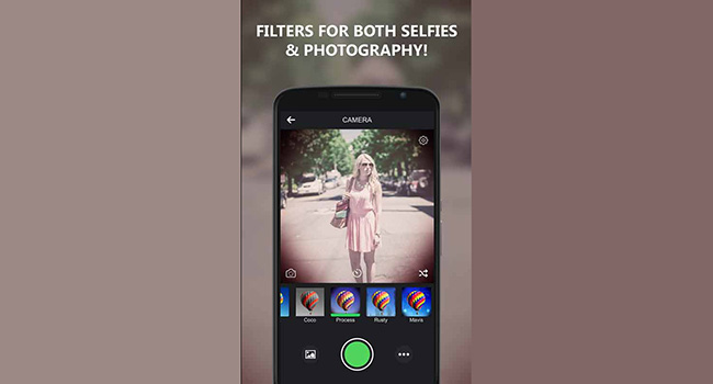 Camera and Photo Filters Screenshot