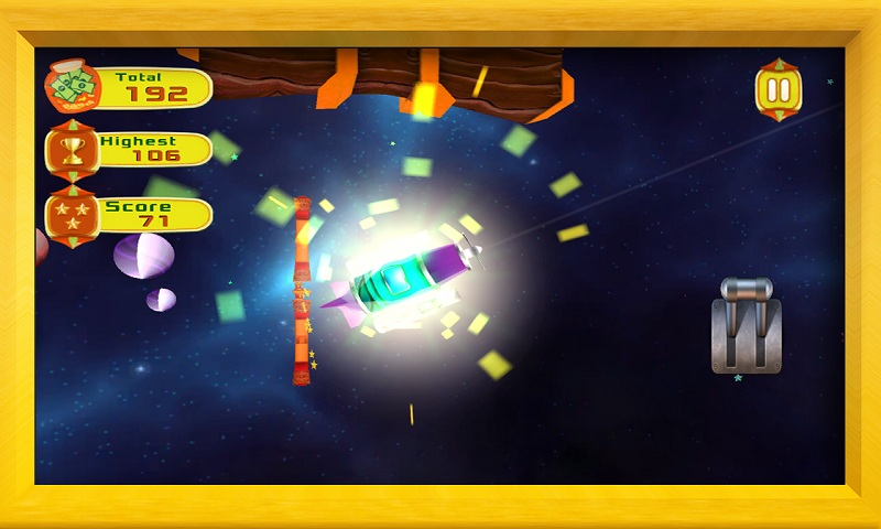 Air Force 3D : Galaxy Dash Screenshot 4