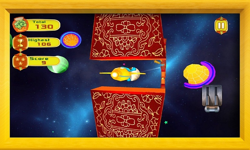 Air Force 3D : Galaxy Dash Screenshot 3