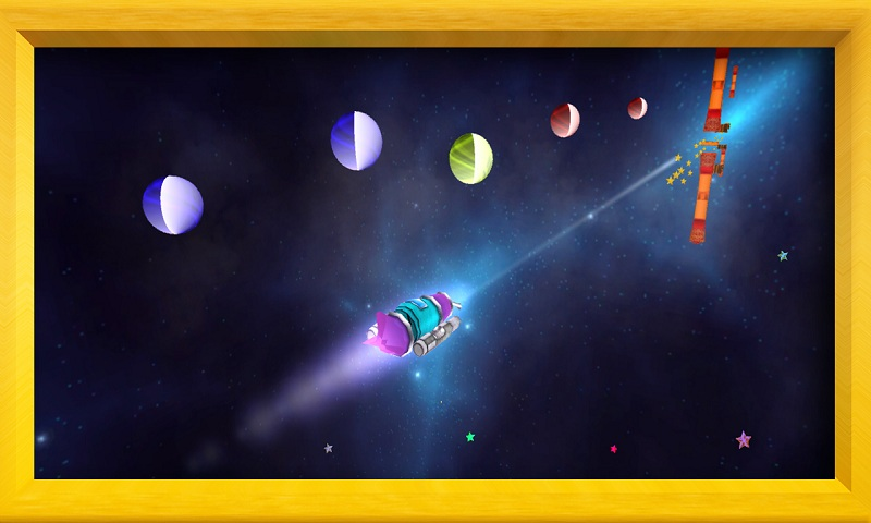 Air Force 3D : Galaxy Dash Screenshot 5