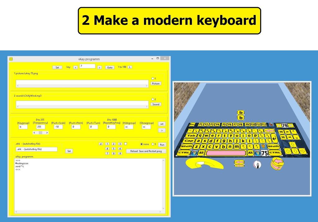 keystarter Screenshot 3