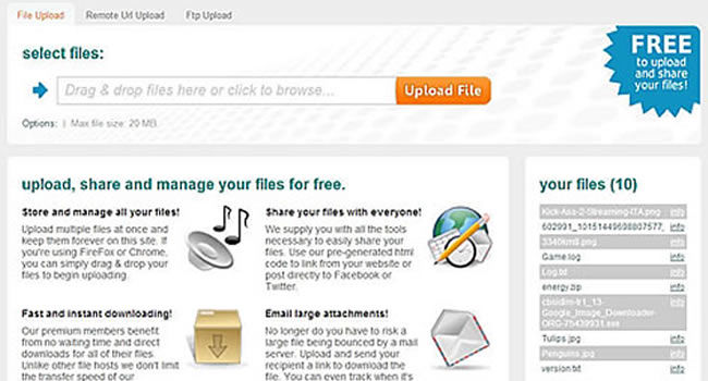 YetiShare - File Hosting Script Free Screenshot