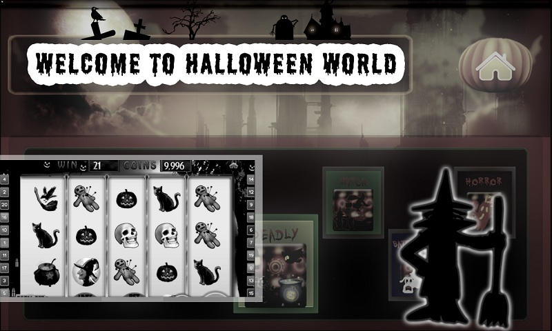 Halloween Vegas Jackpot Free Screenshot