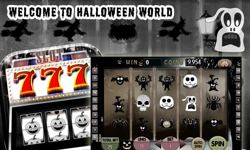 Halloween Vegas Jackpot Free Screenshot 3