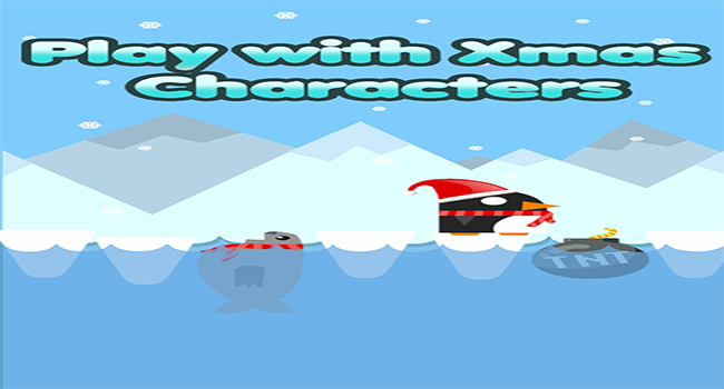 Xmas Penguin:Ice Hop n Dash Screenshot 3