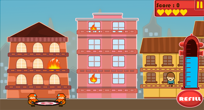 Rescue Hero: The Fire Fighter Screenshot