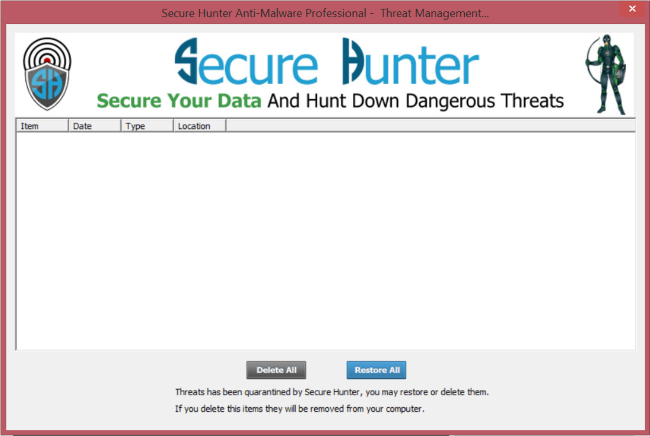 Secure Hunter Anti-Malware Pro Screenshot 4