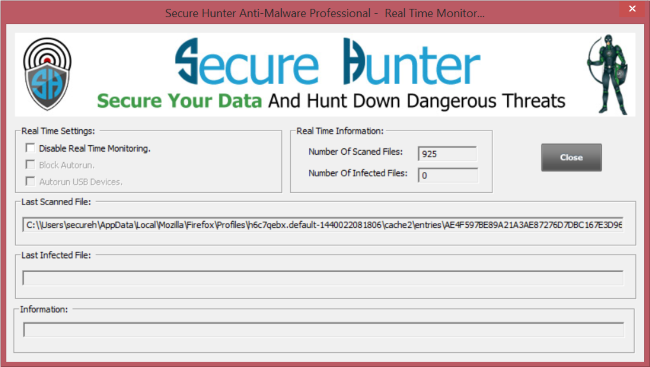 Secure Hunter Anti-Malware Pro Screenshot 5