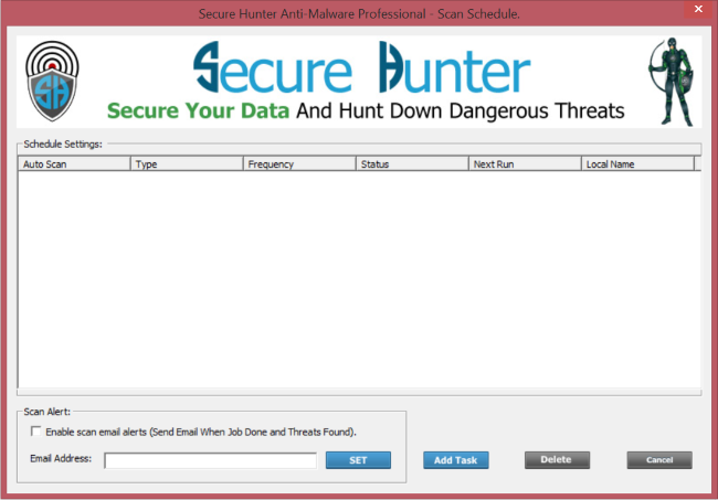 Secure Hunter Anti-Malware Pro Screenshot 3