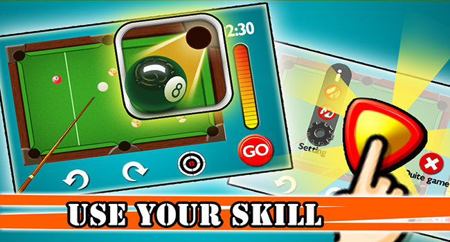 3D Pool:8 Ball Snooker Screenshot