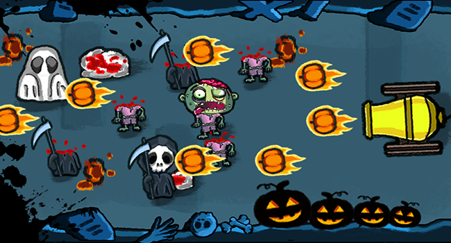 Spooky Pumpkin Monsters Screenshot 3