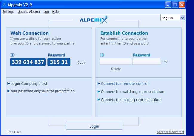 Alpemix Screenshot