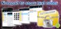 MyTreeNotes - Notepad 1