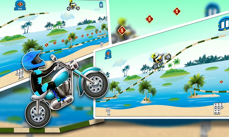 Beach Power:The Motorbike Race Screenshot 4