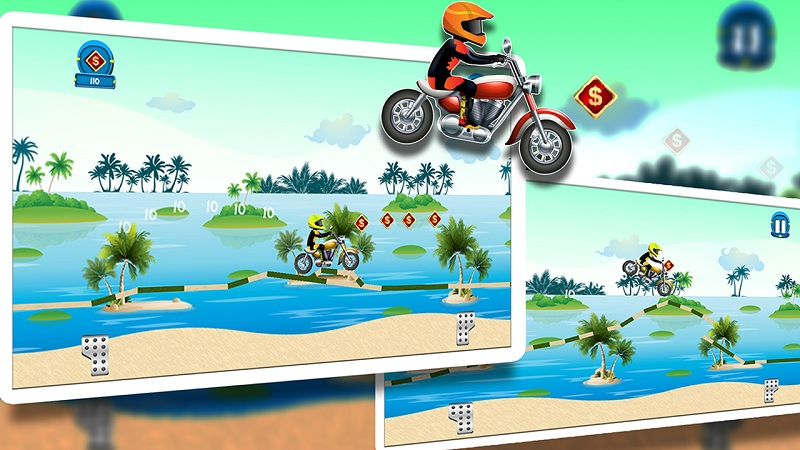 Beach Power:The Motorbike Race Screenshot 3