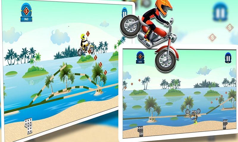 Beach Power:The Motorbike Race Screenshot 6