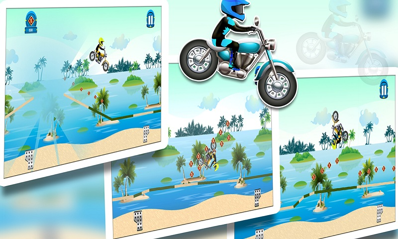 Beach Power:The Motorbike Race Screenshot 7