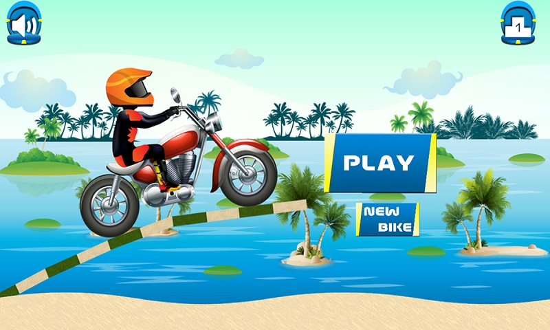 Beach Power:The Motorbike Race Screenshot