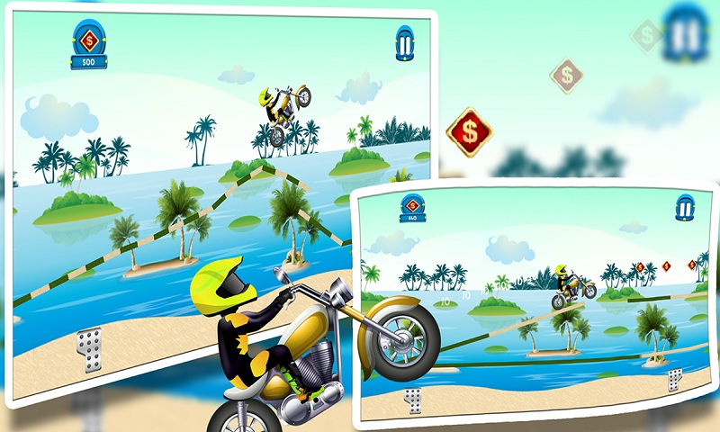 Beach Power:The Motorbike Race Screenshot 5