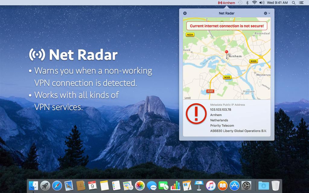 Net Radar Screenshot 2