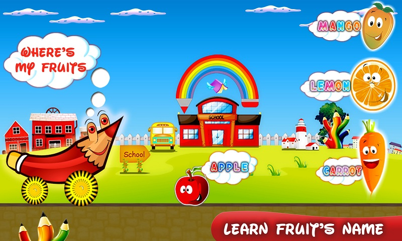 Education Roller Kids Game Screenshot