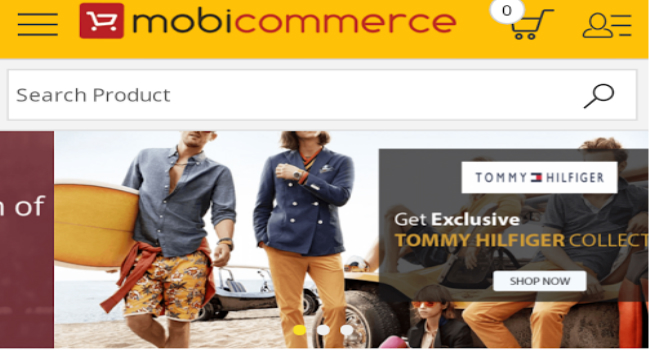 Build Mobile Commerce App by MobiCommerce Screenshot 2