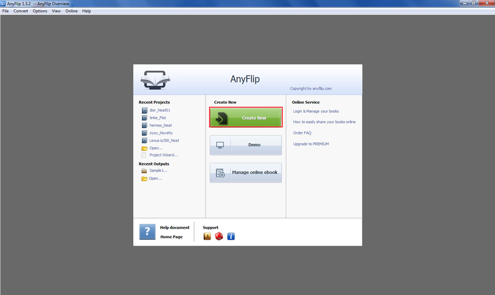 AnyFlip Screenshot