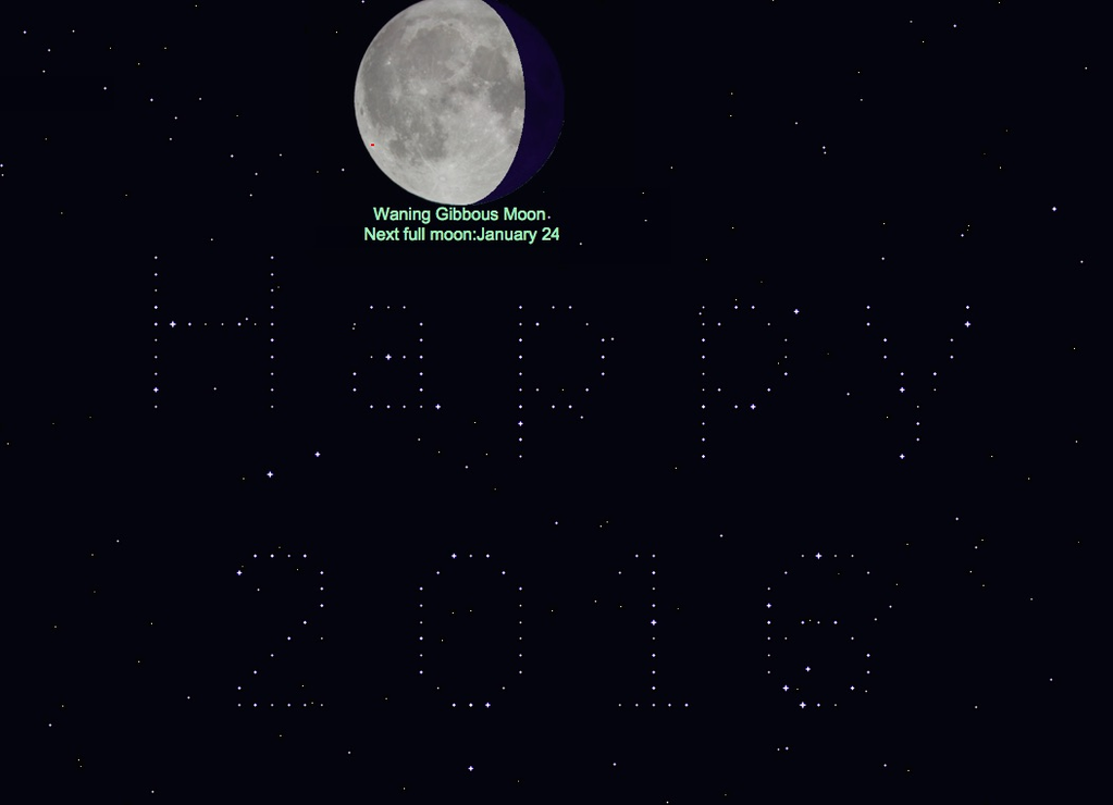 StarMessage - Moon Phases screensaver Screenshot 2