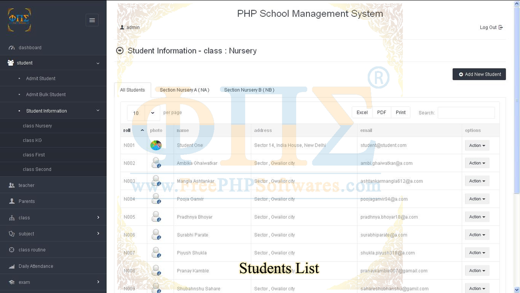 School Software Screenshot 7