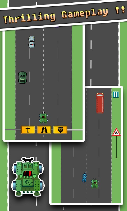 speedy highway car city ride Android Game Screenshot 3