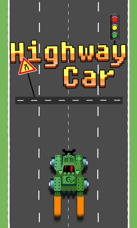 speedy highway car city ride Android Game Screenshot