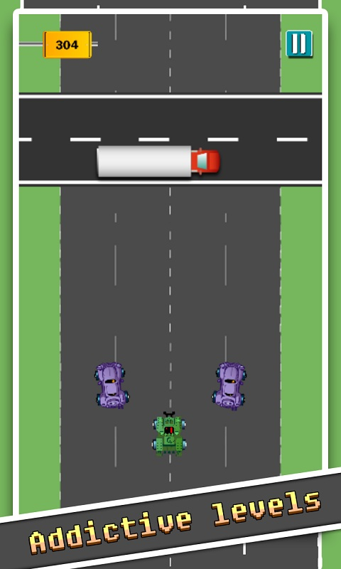 speedy highway car city ride Android Game Screenshot 4