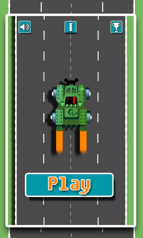 speedy highway car city ride Android Game Screenshot 2