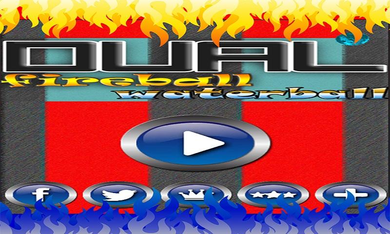 Fire Ball Water Ball Dual Race Screenshot