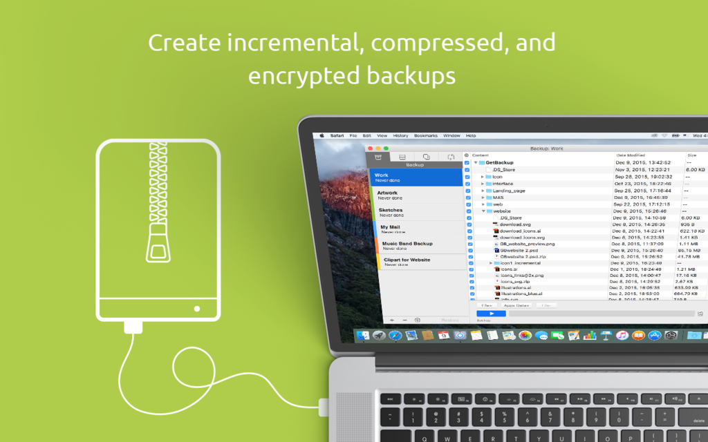 Get Backup Pro Screenshot 2