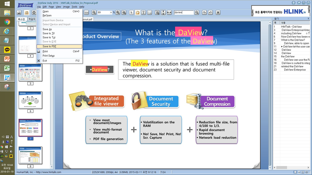 DaviewIndy - MultiViewer Screenshot 7