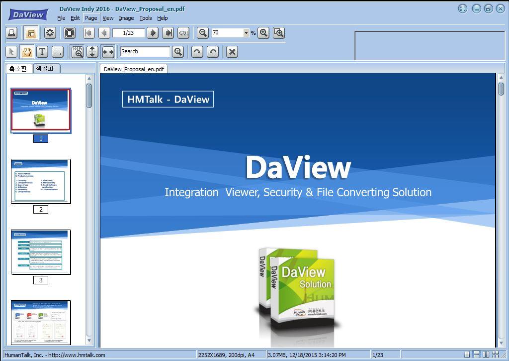 DaviewIndy - MultiViewer Screenshot 2