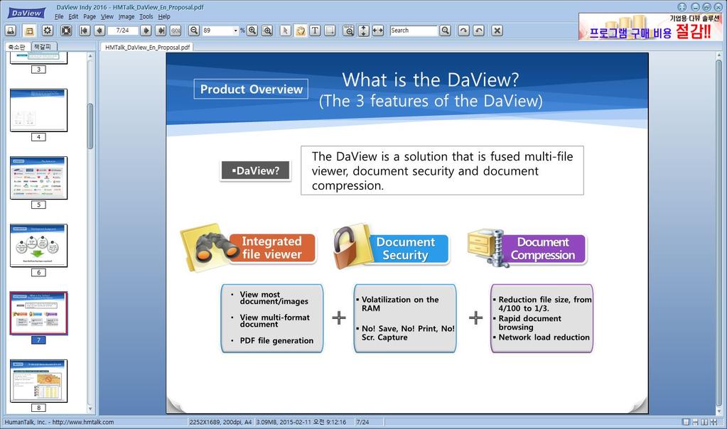 DaviewIndy - MultiViewer Screenshot 4