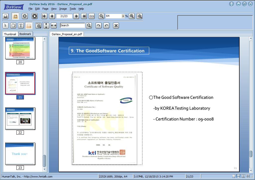 DaviewIndy - MultiViewer Screenshot 8