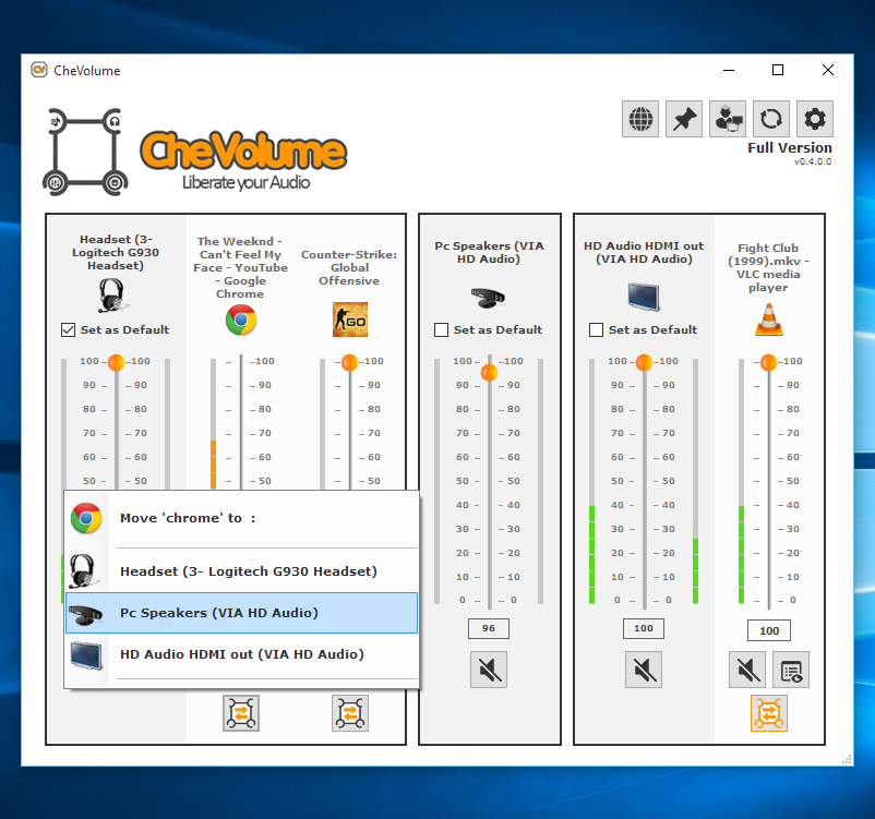 CheVolume Screenshot 4